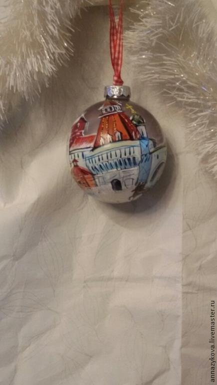 Новый год 2017 ручной работы. Ярмарка Мастеров - ручная работа. Купить Старая Лубянка. Handmade. Темно-серый, москва, лак