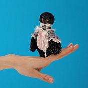 Куклы и игрушки ручной работы. Ярмарка Мастеров - ручная работа Снегирь. Птица 13 см. Друзья тедди. Handmade.