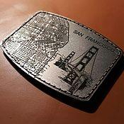 Картхолдер ручной работы. Ярмарка Мастеров - ручная работа Авторский титановый картхолдер Colibri. Handmade.