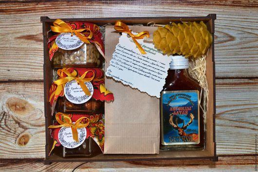 Персональные подарки ручной работы. Ярмарка Мастеров - ручная работа. Купить Алтай - подарочный набор в деревянной коробке. Handmade.
