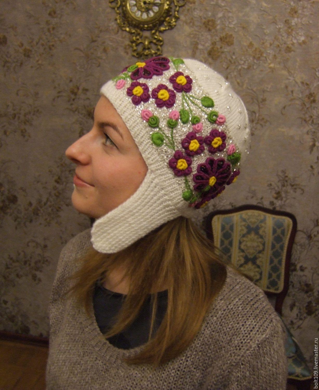Купить шапку с вышивкой