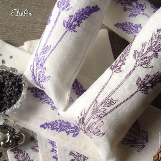Текстиль, ковры ручной работы. Ярмарка Мастеров - ручная работа. Купить САШЕ мешочек с лавандой ароматическое - ЛАВАНДОВАЯ веточка. Handmade.