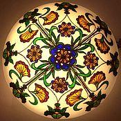 Для дома и интерьера handmade. Livemaster - original item Lamp with vegetal and floral ornament Tales of Sherwood forest. Handmade.