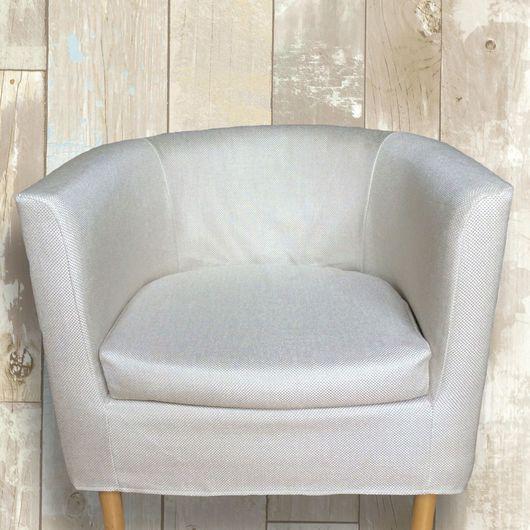 """Мебель ручной работы. Ярмарка Мастеров - ручная работа. Купить Чехол для кресла Сольста Оларп """" Белый песок"""". Handmade."""