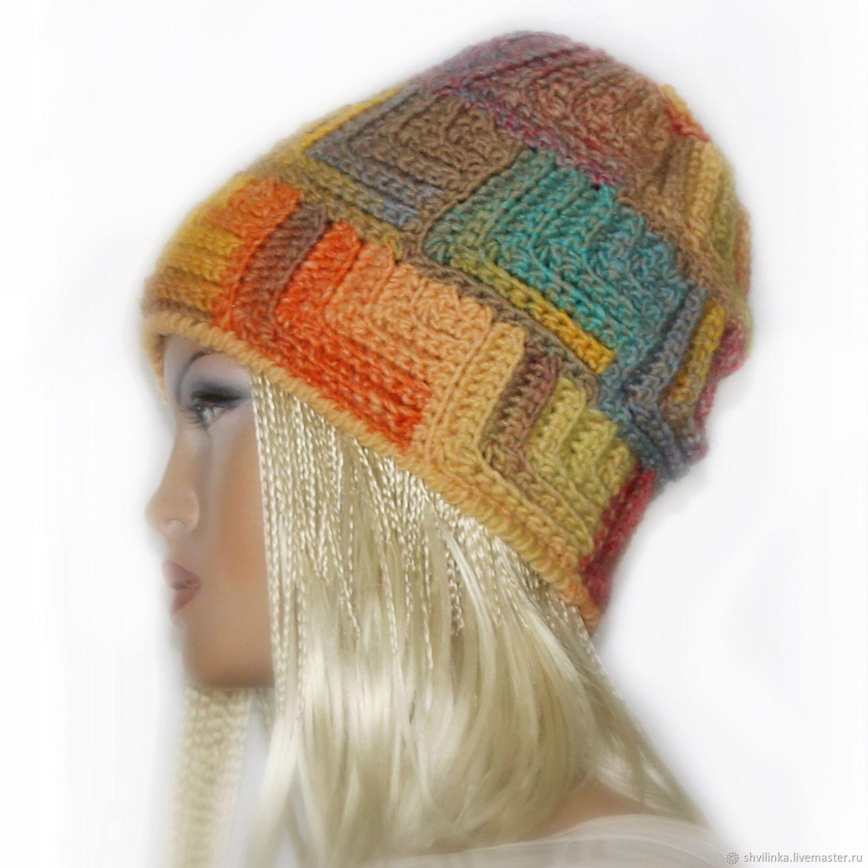 """Шапки ручной работы. Ярмарка Мастеров - ручная работа. Купить Шапка """"AZTECA № 6"""" (шапка вязаная, шапка женская). Handmade."""
