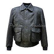 Мужская одежда handmade. Livemaster - original item Men`s jacket of Python MCCOY. Handmade.