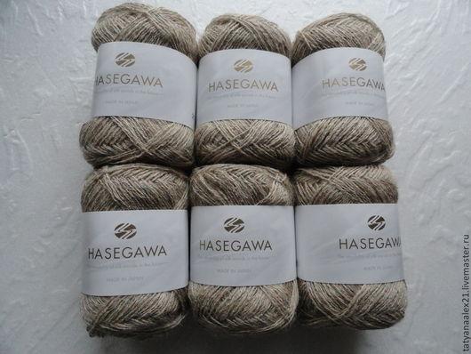 Вязание ручной работы. Ярмарка Мастеров - ручная работа. Купить Пряжа Hasegawa Yayoi № 4. Handmade. Пряжа в мотках