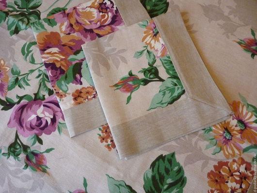 Текстиль, ковры ручной работы. Ярмарка Мастеров - ручная работа. Купить салфетка. Handmade. Бежевый, хлопок 100%