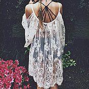 Материалы для творчества handmade. Livemaster - original item Beautiful Chantilly lace 8. Handmade.