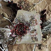 """Подарки к праздникам ручной работы. Ярмарка Мастеров - ручная работа Мини-альбом """"Рождество"""". Handmade."""
