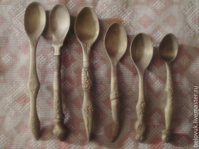 Ложка личная деревянная, Посуда, Уйское, Фото №1