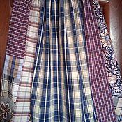 Одежда handmade. Livemaster - original item Skirts: Cotton Plaid Skirt. Handmade.