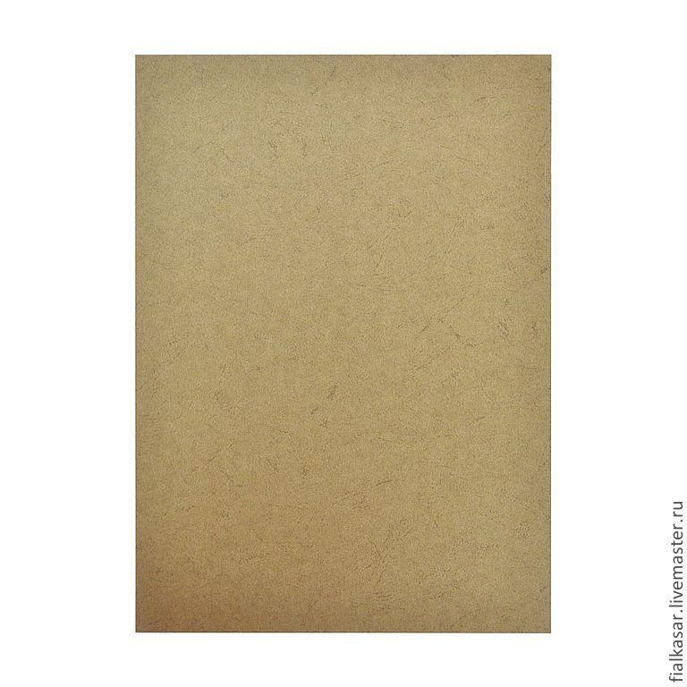 Картон коричневый 230 г/м2 тисненый Кожа А4 формат для скрапбукинга, переплета