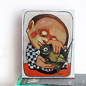Картины и панно ручной работы. Ярмарка Мастеров - ручная работа Старые друзья. Handmade.