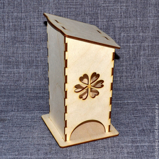 ЧД-02-002. Чайный домик `Резной цветок`.
