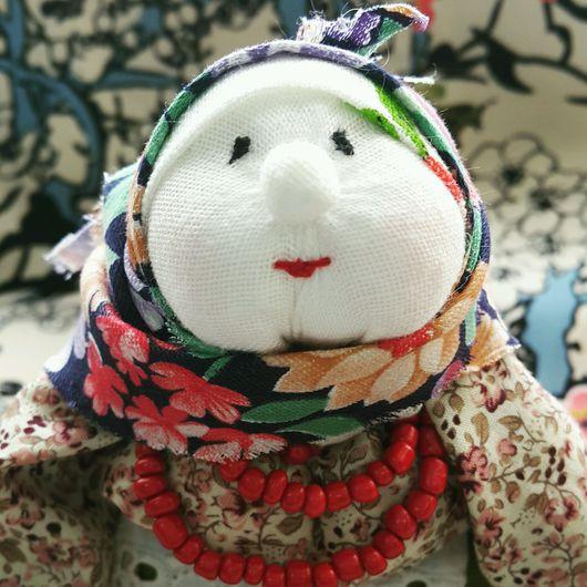 Народные куклы ручной работы. Ярмарка Мастеров - ручная работа. Купить Бабка характерная Маруся. Handmade. Бабка, кукла интерьерная