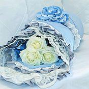 Комплекты одежды ручной работы. Ярмарка Мастеров - ручная работа Комплект Голубой. Handmade.