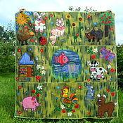 Для дома и интерьера ручной работы. Ярмарка Мастеров - ручная работа Валяный детский развивающий коврик. Handmade.