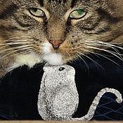 Субкультуры ручной работы. Ярмарка Мастеров - ручная работа Маска с вышивкой. Мышь. Маска для сна. Бархат, шелк, шелковая вышивка. Handmade.