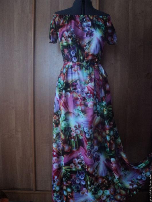"""Платья ручной работы. Ярмарка Мастеров - ручная работа. Купить Платье """"Каприз"""""""". Handmade. Ярко-красный, платье, Платье нарядное"""