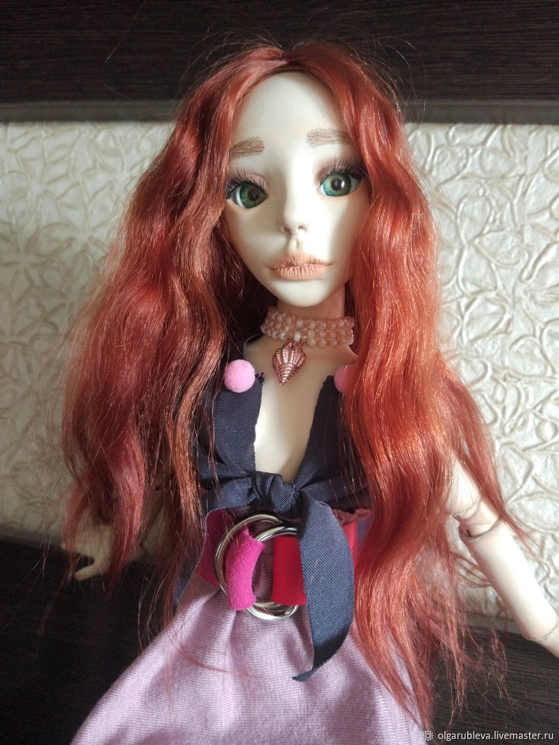 Pompon articulated doll, Ball-jointed doll, Ufa,  Фото №1
