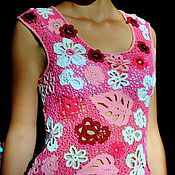 """Одежда ручной работы. Ярмарка Мастеров - ручная работа Кофточка девичья """"Лето"""". Handmade."""