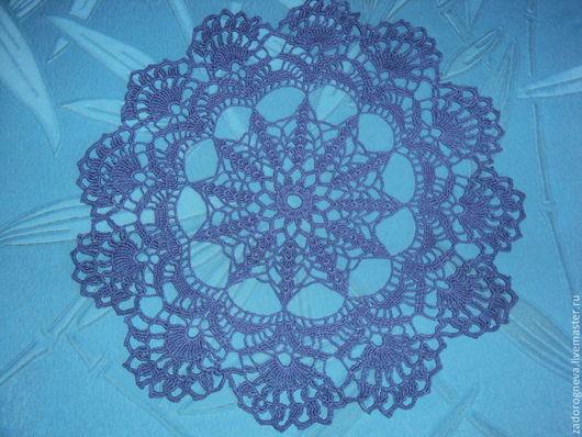 Текстиль, ковры ручной работы. Ярмарка Мастеров - ручная работа. Купить Салфетка 5. Handmade. Белый, Салфетка вязаная, хлопок