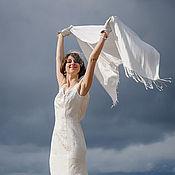 """Свадебный салон ручной работы. Ярмарка Мастеров - ручная работа Свадебное платье """"Легкость"""". Handmade."""