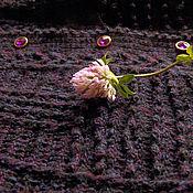 """Одежда ручной работы. Ярмарка Мастеров - ручная работа Вязаная блузка """"Ежевичное настроение"""". Handmade."""