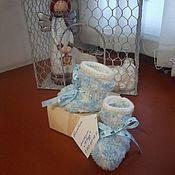 Подарки к праздникам ручной работы. Ярмарка Мастеров - ручная работа Пинетки. Handmade.