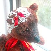 Куклы и игрушки ручной работы. Ярмарка Мастеров - ручная работа Авторская игрушка мишка - тедди  Роззи. Handmade.