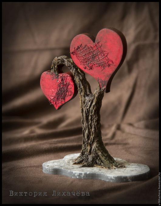 """Статуэтки ручной работы. Ярмарка Мастеров - ручная работа. Купить Статуэтка """"Древо любви"""". Handmade. Разноцветный, дерево, дерево любви"""