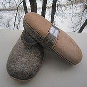 Обувь ручной работы handmade. Livemaster - original item Felted Slippers