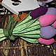 Подарки на Пасху ручной работы. Ярмарка Мастеров - ручная работа. Купить Тюльпаны, опять тюльпаны !. Handmade. Тюльпаны, флис
