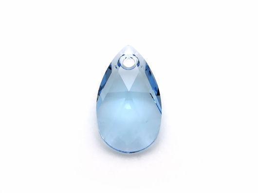 Для украшений ручной работы. Ярмарка Мастеров - ручная работа. Купить Подвески 16мм Aquamarine Pear-shaped Pendant Swarovski-. Handmade.