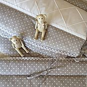 Для дома и интерьера handmade. Livemaster - original item Bumpers for crib newborn. Handmade.