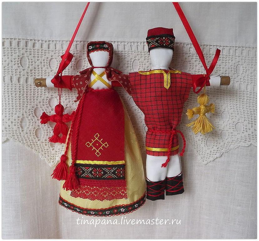 Куклы обереги для молодоженов своими руками 53
