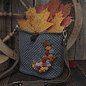 Сумки и аксессуары handmade. Livemaster - original item Crossbody bag: A walk in the Park. Handmade.