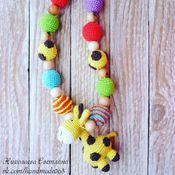 """Одежда ручной работы. Ярмарка Мастеров - ручная работа Слингобусы """"Весёлый жираф"""". Handmade."""