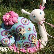 Куклы и игрушки ручной работы. Ярмарка Мастеров - ручная работа Улиточка. Handmade.