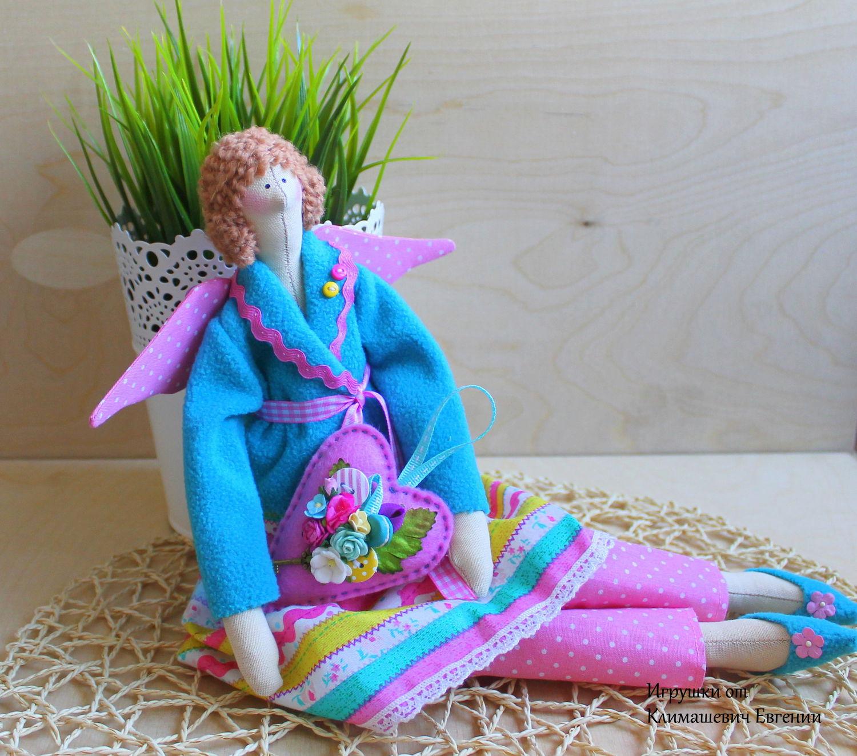 Кукла Тильда с сердечком, Декор в стиле Тильда, Новосибирск,  Фото №1