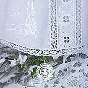 """Работы для детей, ручной работы. Ярмарка Мастеров - ручная работа Крестильная рубашка и чепчик """"Первая весна"""". Handmade."""