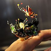 Украшения handmade. Livemaster - original item Large flower ring