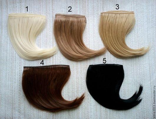 волосы для кукол 1 метр трессы  прямые