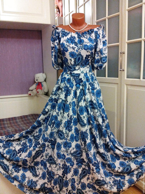 Штапельных платья суздаль купить