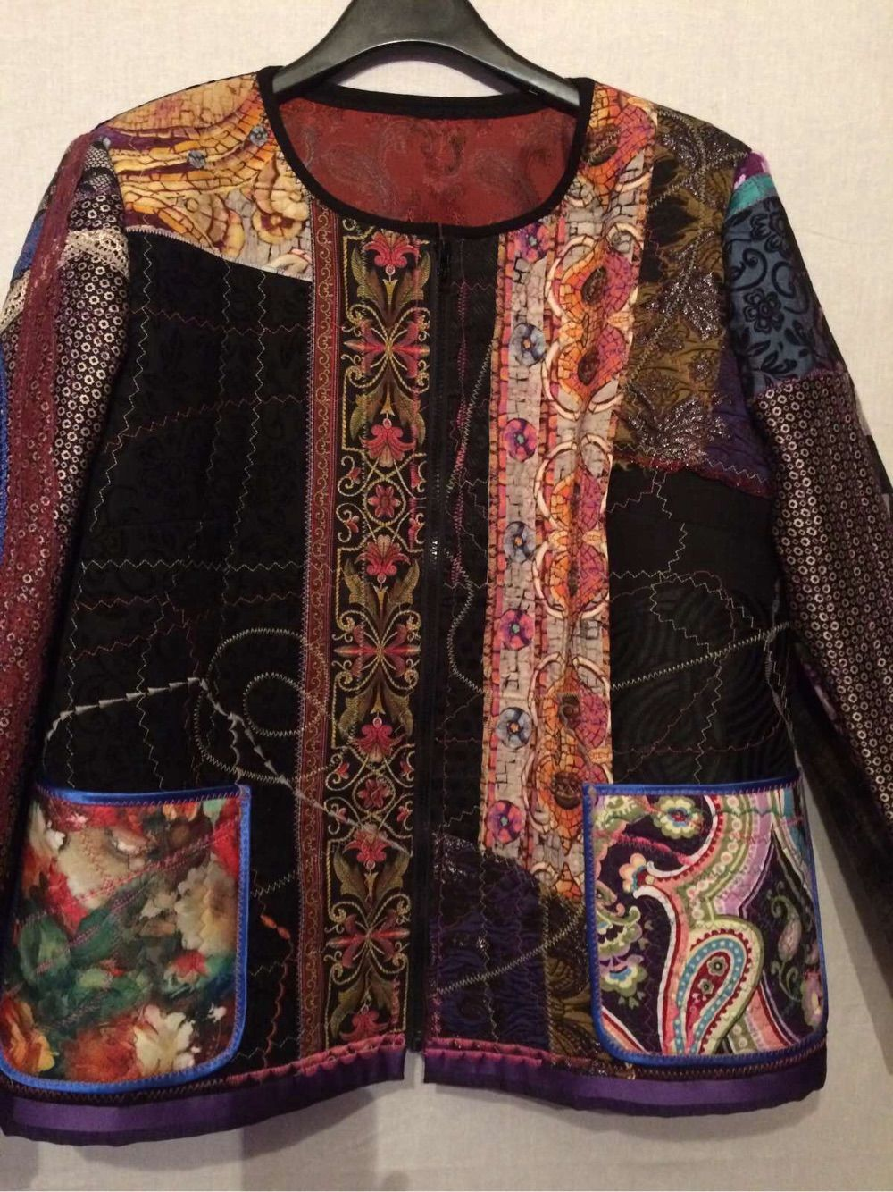 Patchwork jacket Patterns, Outerwear Jackets, Moscow,  Фото №1