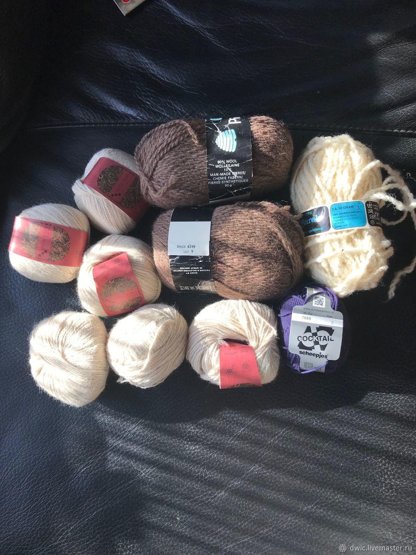 Skeins wool, yarn, 50 gr., 10 PCs . , Holland, Yarn, Arnhem,  Фото №1