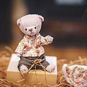 Куклы и игрушки ручной работы. Ярмарка Мастеров - ручная работа мишка тедди Стив. Handmade.
