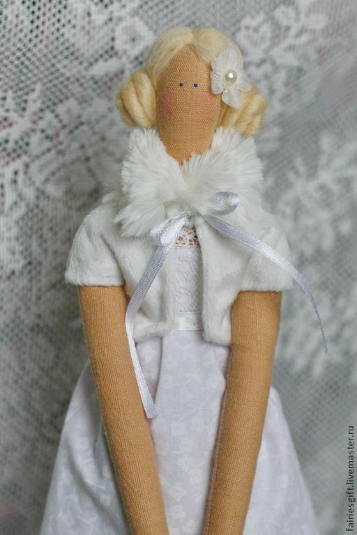 Куклы Тильды ручной работы. Ярмарка Мастеров - ручная работа. Купить Тильда Снежана. Handmade. Белый, кукла ручной работы