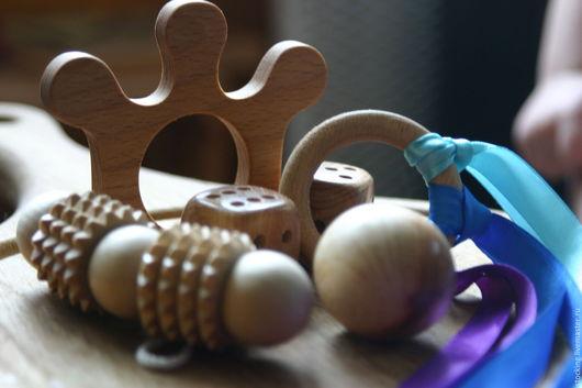Развивающие игрушки ручной работы. Ярмарка Мастеров - ручная работа. Купить Развивающий набор для младенцев.. Handmade. Комбинированный, машинка, развивашка